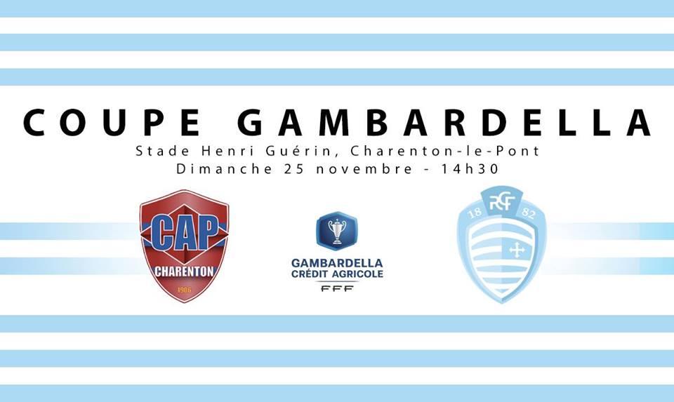 Gambardella Les U19 Du Racing Affronteront Le Cap