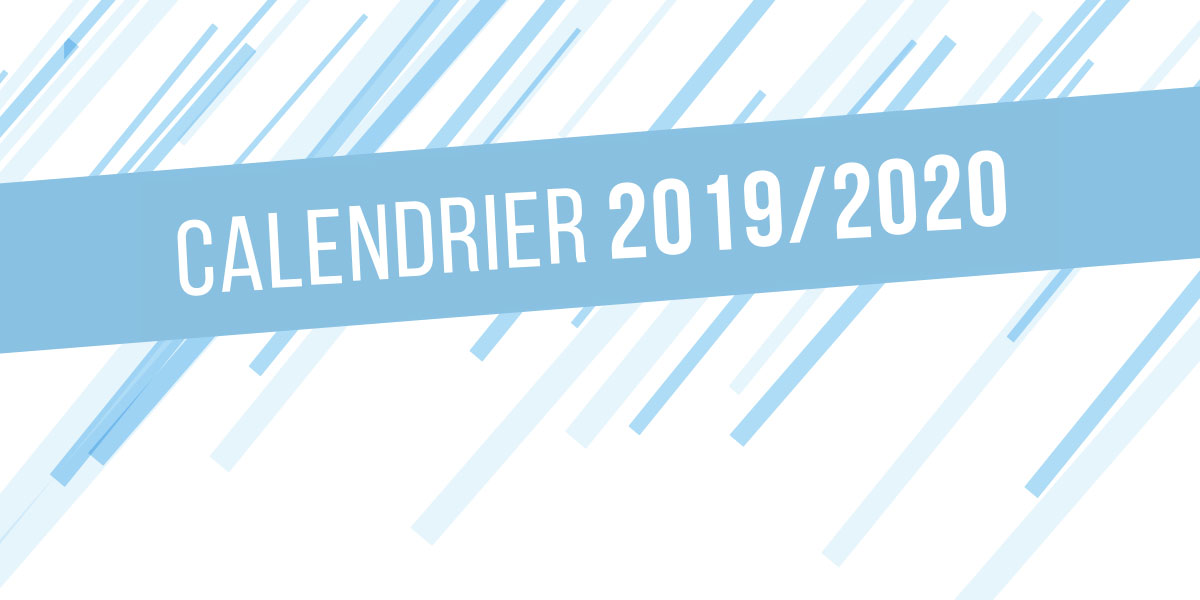 Calendrier National 2020 2019.National 3 Le Calendrier 2019 2020 Publie Site